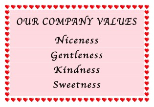 """Why You Should Unashamedly Trash Your Company """"Values"""""""