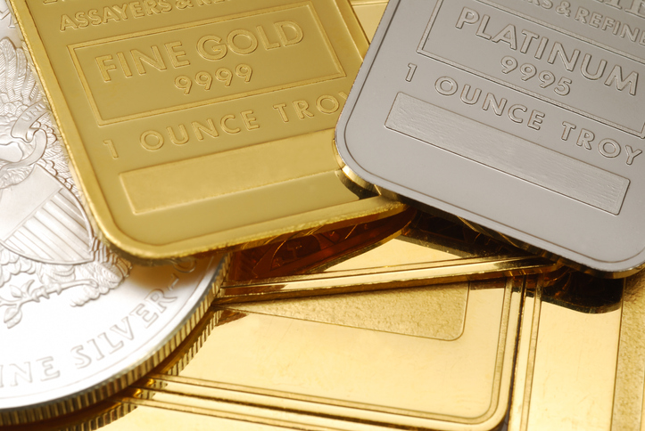 Gold and Platinum bars to express the gold and platinum rule.